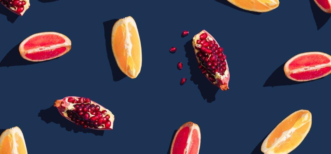 Summer citrus fruit